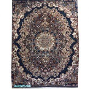 فرش مشهد ۷۰۰ شانه کد ۷۰۲۱۰۰ سرمه ای