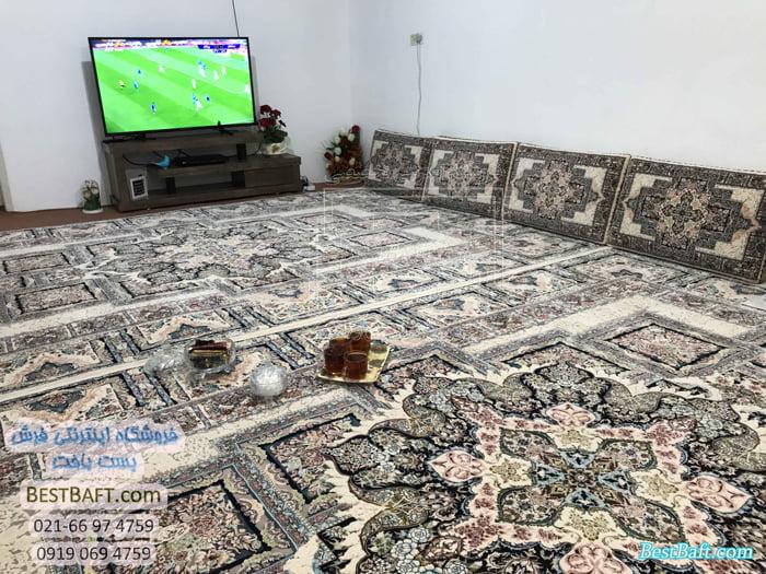 فرش کرم رنگ در دکوراسیون (2)