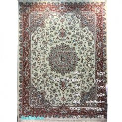 فرش مشهد ۷۰۰ شانه کد ۷۰۲۰۳۳ کرمی