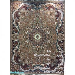 فرش مشهد ۷۰۰ شانه کد ۷۰۲۰۸۰ گردویی
