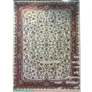 فرش مشهد ۷۰۰ شانه کد ۷۰۲۱۳۳ کرمی