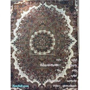 فرش مشهد ۷۰۰ شانه کد ۷۲۲۱۰۰ گردویی