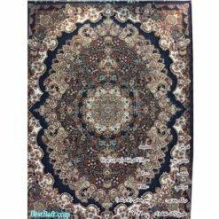 فرش مشهد ۷۰۰ شانه کد ۷۲۲۱۰۰ سرمه ای