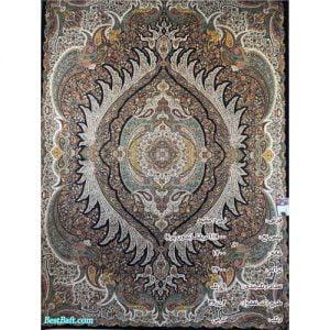 فرش زمرد مشهد ۱۲۰۰ شانه کد ۳۶۰۰۲ کرمی