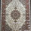 مشخصات، قیمت و خرید فرش زمرد مشهد 700 شانه کد 30000 کرمی
