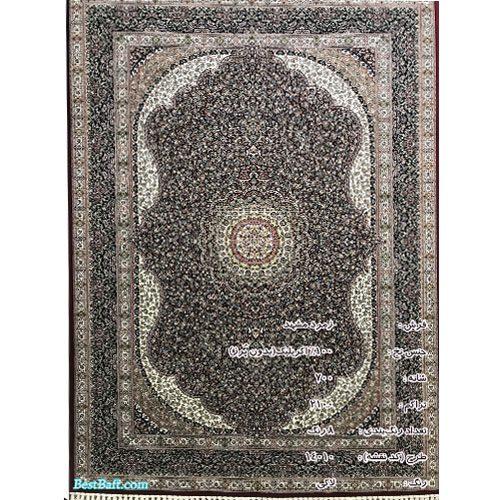 فرش زمرد مشهد ۷۰۰ شانه کد ۱۴۰۱۰ لاکی
