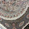 فرش زمرد مشهد کد 36001 کرمی 1200 شانه
