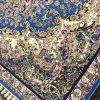 فرش مشهد کد 702070 آبی فیروزه ای 700 شانه