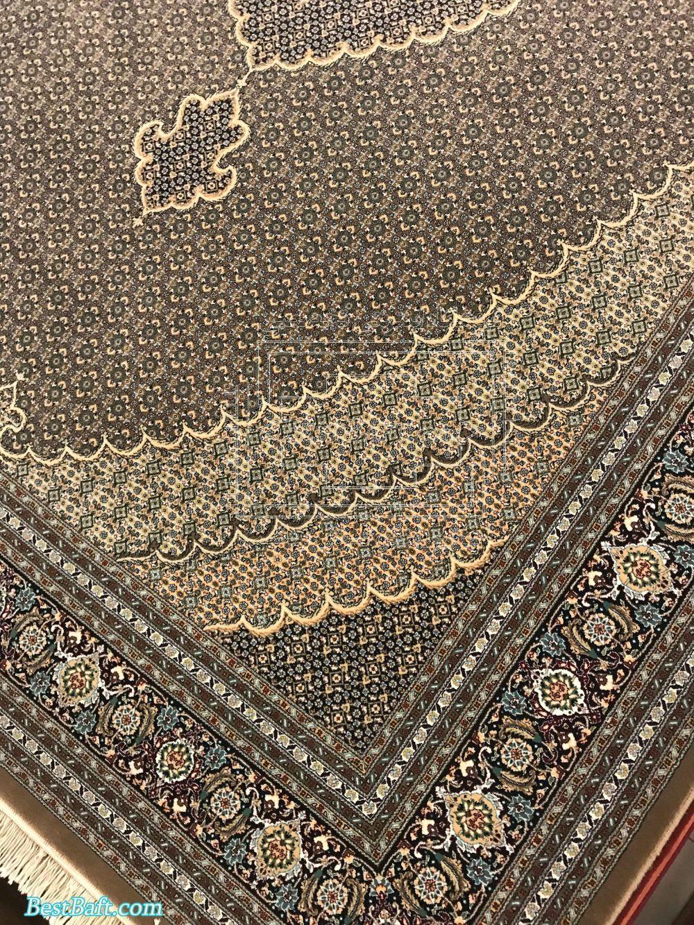 فرش مشهد کد 87034 گردویی 700 شانه