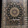 مشخصات، قیمت و خرید فرش مشهد 1000 شانه کد 801040 سرمه ای