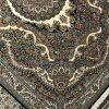 فرش نگین مشهد کد 2580 سرمه ای 700 شانه