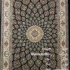 مشخصات، قیمت و خرید فرش نگین مشهد کد 706 سرمه ای 700 شانه