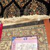 فرش نگین مشهد کد 706 سرمه ای 700 شانه