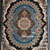 مشخصات، قیمت و خرید فرش کاشان ارکیده آبی فیروزه ای 700 شانه