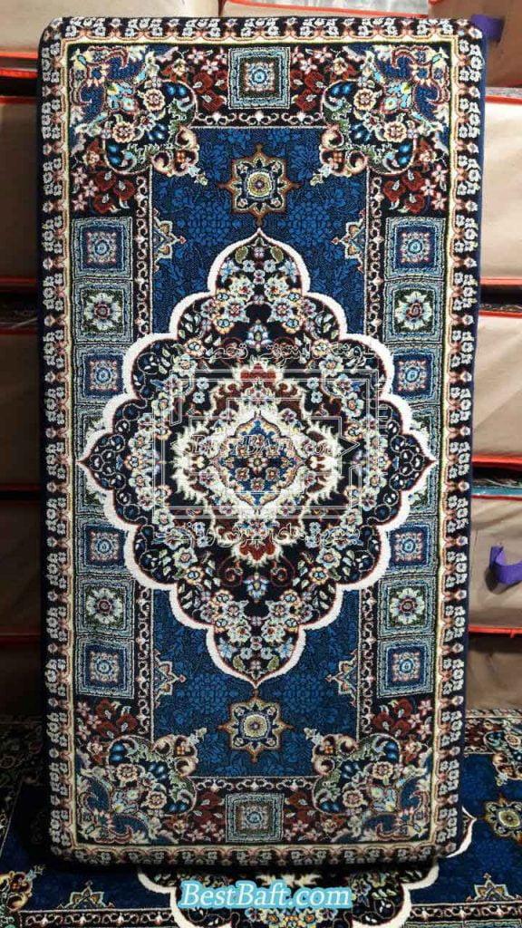 پشتی سنتی ایرانی سرمه ای