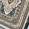 فرش نگین مشهد 1000 شانه کرم طرح 1008 برجسته