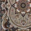 فرش کاشان چیچک گردویی رنگ 700 شانه