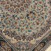 فرش کاشان گوهر 700 شانه گردویی رنگ