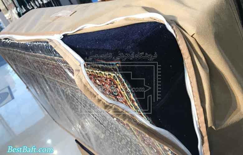 پشتی سنتی افشان کد2591 فرش نگین مشهد لاکی 700 شانه خرید اینترنتی فرش