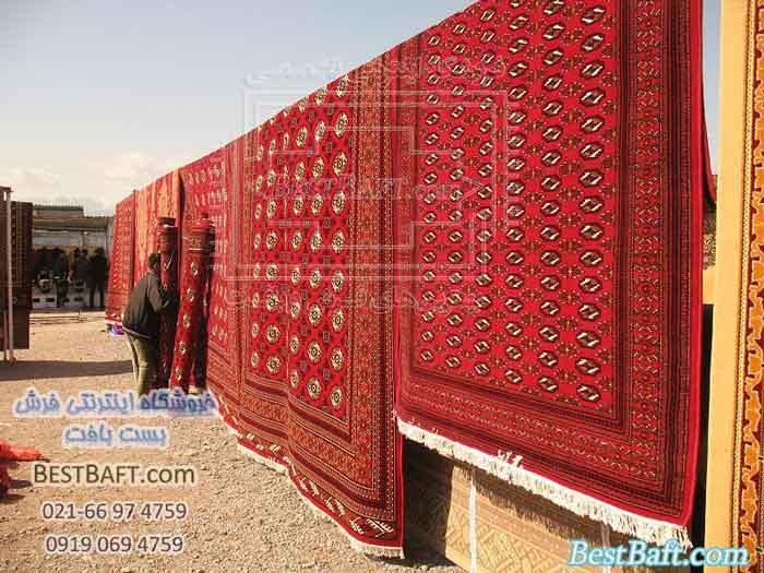نمایشگاه فرش ترکمن