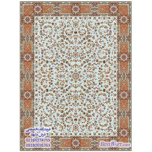 فرش مشهد ۱۲۰۰ شانه کرم طرح ۸۰۲۰۱۲