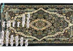 پشتی سنتی سرمهای کد 1003 نگین مشهد