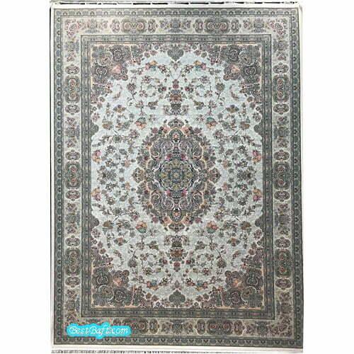 فرش مشهد ۱۵۰۰ شانه کد ۸۱۵۰۰۱ کرمی