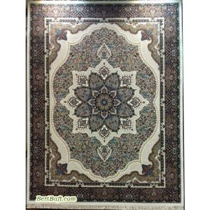 فرش مشهد ۷۰۰ شانه کد ۷۲۲۰۹۸ کرمی
