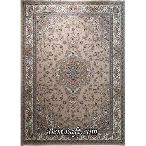 فرش زمرد مشهد ۱۵۰۰ شانه کد ۴۵۰۰۱ نسکافه ای