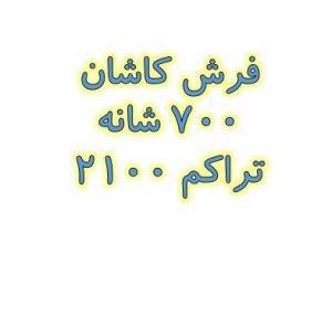 فرش کاشان ۷۰۰ شانه تراکم ۲۱۰۰