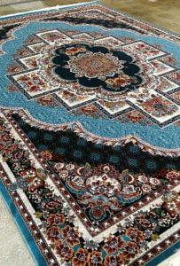 فرش کاشان ۷۰۰ شانه تراکم 2400