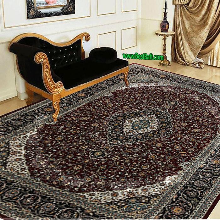 فرش مشهد ۷۰۰ شانه کد ۸۷۲۱۰۷ لاکی