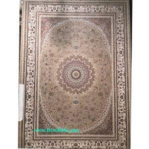فرش زمرد مشهد ۱۵۰۰ شانه کد ۵۰۰۰۰ بژ گلبرجسته