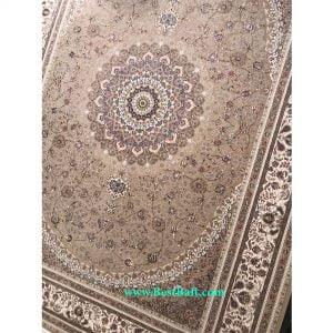 فرش زمرد 1500 شانه تراکم 4500 بژ