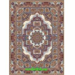 فرش مشهد ۷۰۰ شانه کد ۸۷۲۱۲۱ کرمی
