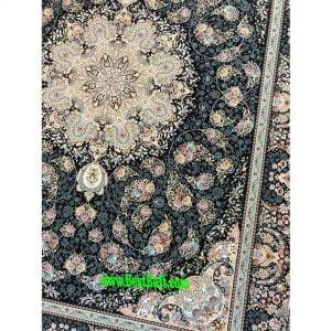 فرش مشهد 1500 شانه تراکم 4500 کرم