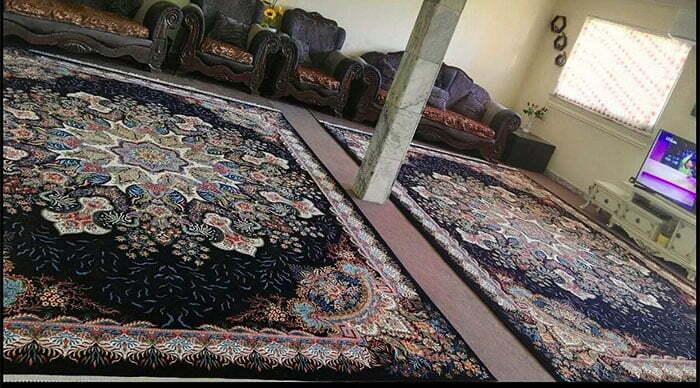 فرش کاشان ۷۰۰ شانه تراکم 2550
