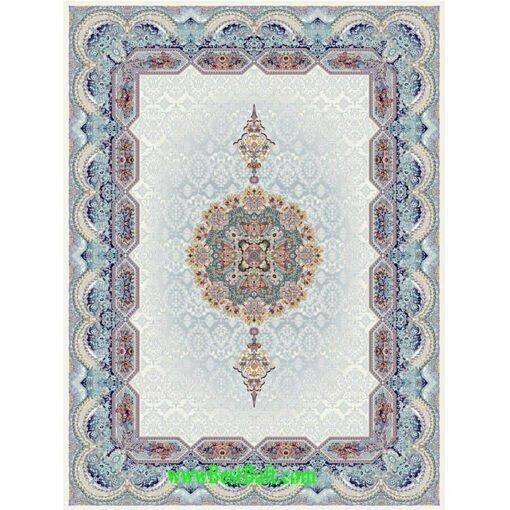 فرش مشهد ۷۰۰ شانه کد ۷۲۲۲۱۸ کرمی