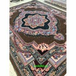 فرش کاشان باغ معلق ۴۴۰ شانه گردویی