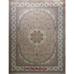 فرش مشهد ۷۰۰ شانه کد ۷۲۲۲۰۶ بژ
