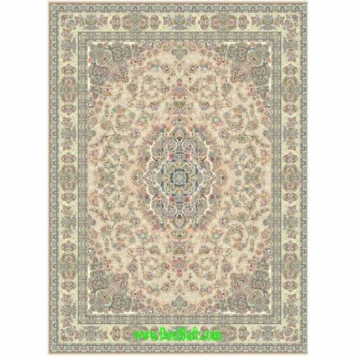 فرش مشهد ۱۵۰۰ شانه کد ۸۱۵۰۰۱ بژ