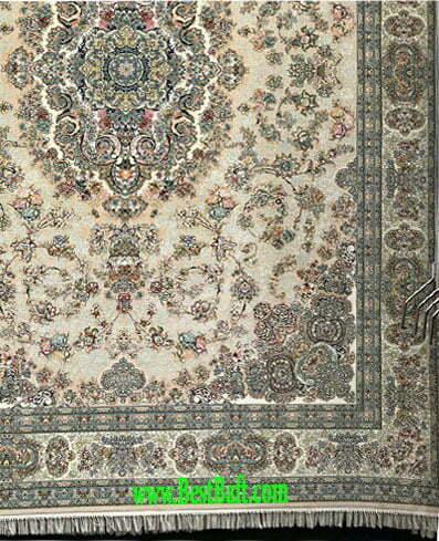 فرش مشهد 1500 شانه تراکم 4500