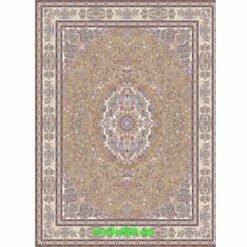 فرش مشهد ۱۵۰۰ شانه کد ۸۱۵۰۰۱ گردویی