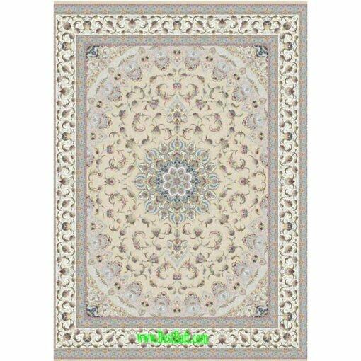فرش مشهد ۱۵۰۰ شانه کد ۸۱۵۰۰۵ بژ