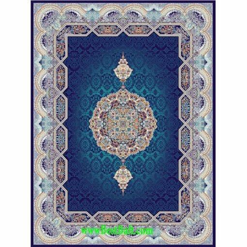 فرش مشهد ۷۰۰ شانه کد ۷۲۲۲۱۸ سرمه ای