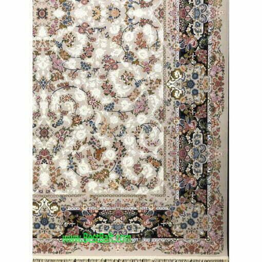 فرش کاشان 1200 شانه گلبرجسته