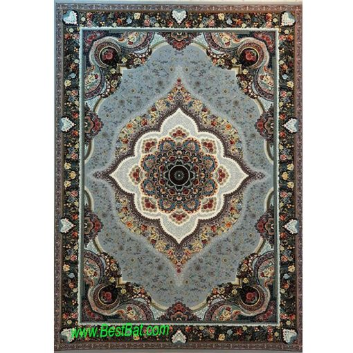 فرش مشهد ۷۰۰ شانه کد ۷۲۲۲۱۵ طوسی