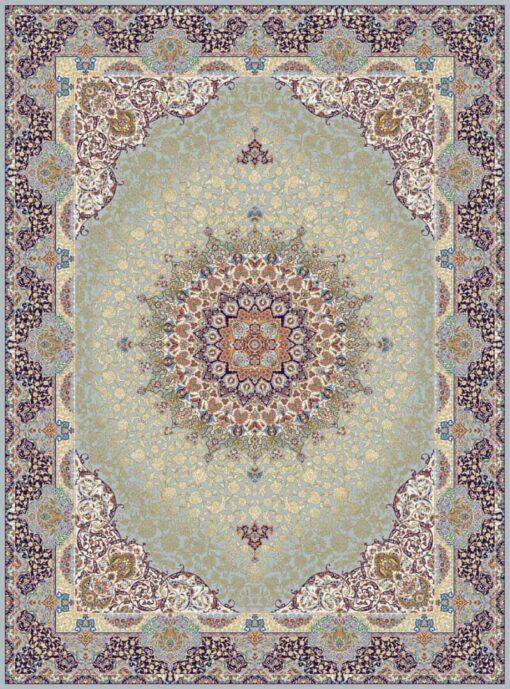 فرش مشهد ۷۰۰ شانه کد ۸۷۲۳۷۵ طوسی