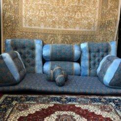 پشتی شاه نشین آبی  پشتی سنتی شاه نشین از کجا بخرم shahneshin abi 2 247x247