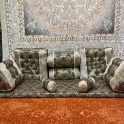 پشتی شاه نشین کرمی  پشتی سنتی شاه نشین از کجا بخرم shahneshin kermi 1 247x247